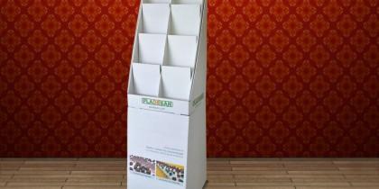 Exhibidores en cartón